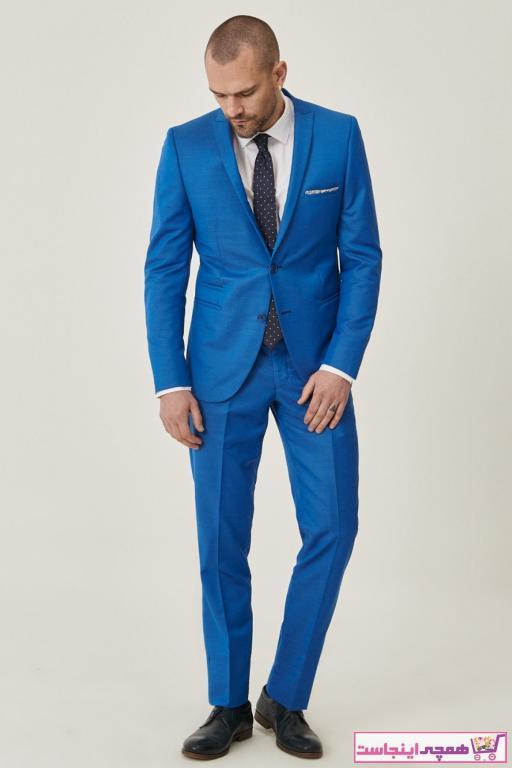 فروش نقدی کت شلوار مردانه خاص برند ALTINYILDIZ CLASSICS رنگ آبی کد ty5782875