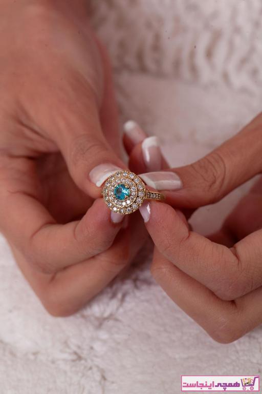 قیمت انگشتر زنانه برند Ninova Silver رنگ طلایی ty5925793