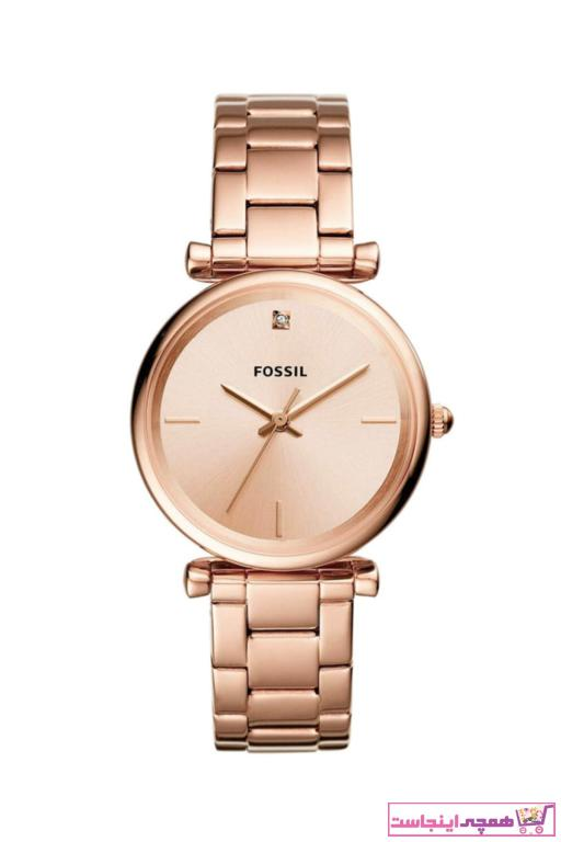 خرید انلاین ساعت مچی زنانه  برند Fossil رنگ صورتی ty5951882