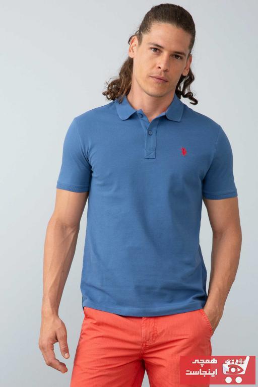 پولوشرت مردانه اسپرت جدید برند U.S. Polo Assn. رنگ لاجوردی کد ty5982407