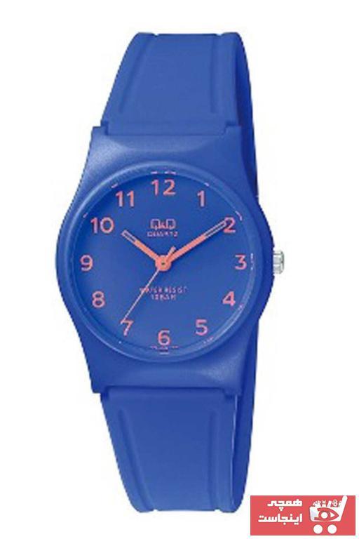 ساعت پسرانه شیک جدید برند Q&Q رنگ لاجوردی کد ty6042527