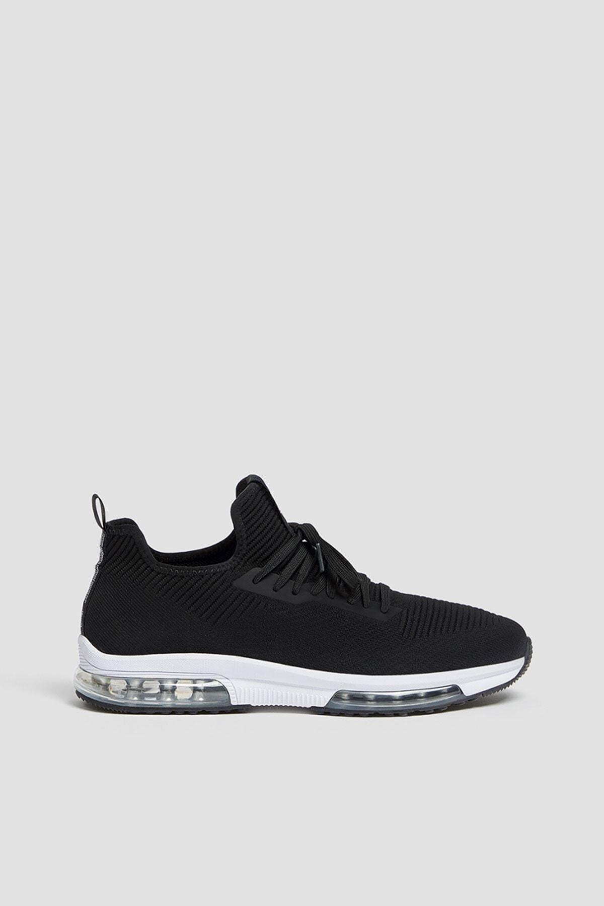 خرید پستی کفش اسپرت زیبا مردانه برند Pull & Bear رنگ مشکی کد ty60652950