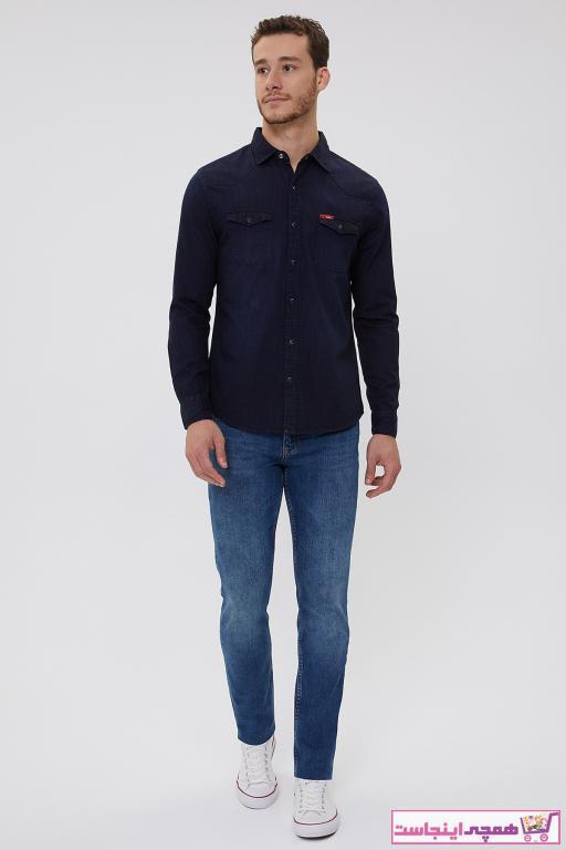 خرید شلوار جین خفن برند Lee Cooper رنگ آبی کد ty60811544