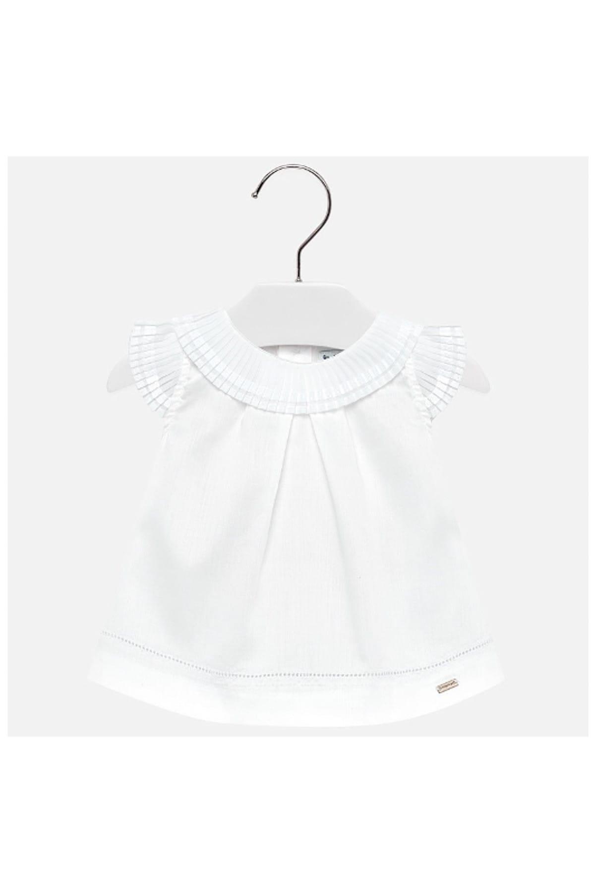 خرید بلوز 2021 نوزاد دختر برند MAYORAL رنگ بژ کد ty6085443