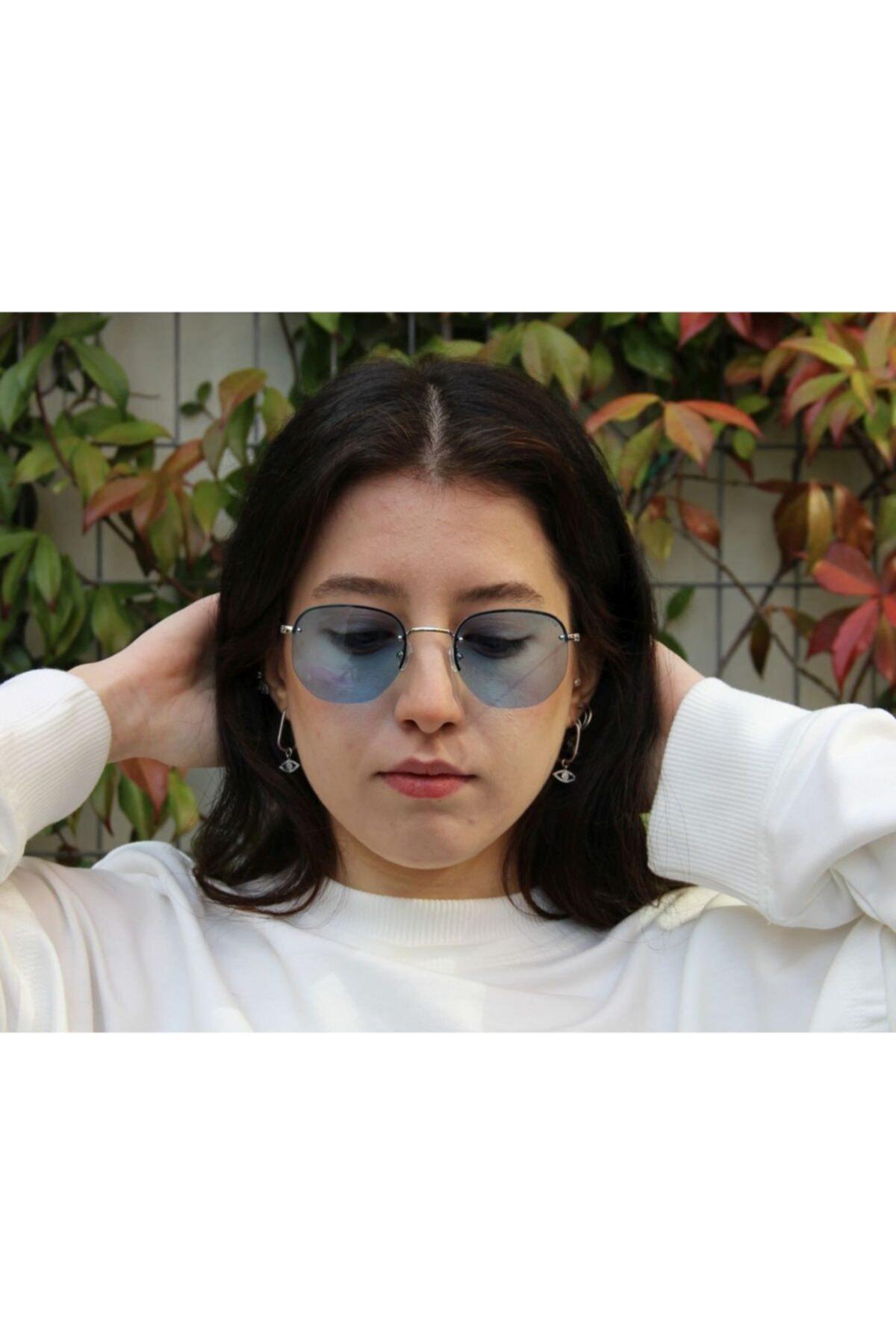 خرید انلاین عینک دودی طرح دار برند Osse رنگ نقره کد ty6142348