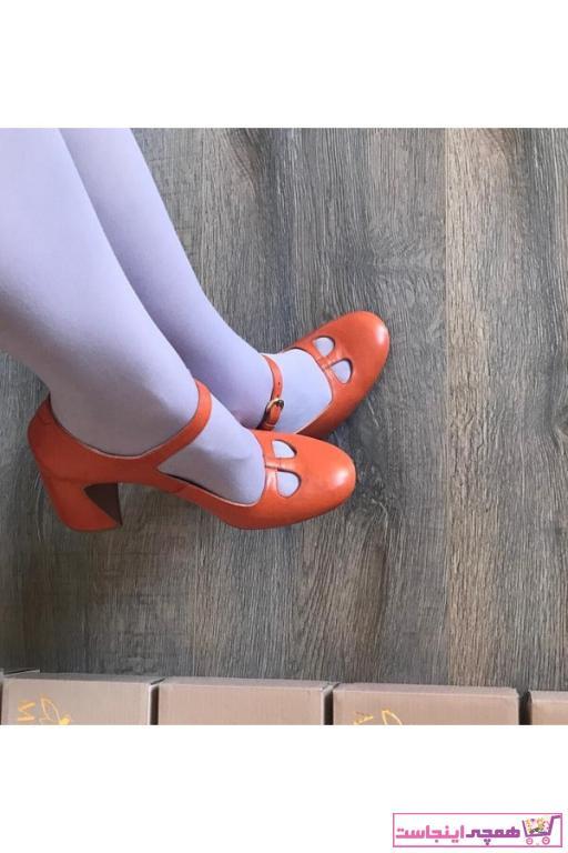 فروش پاشنه دار زنانه فانتزی برند MİLARNU رنگ نارنجی کد ty61931809