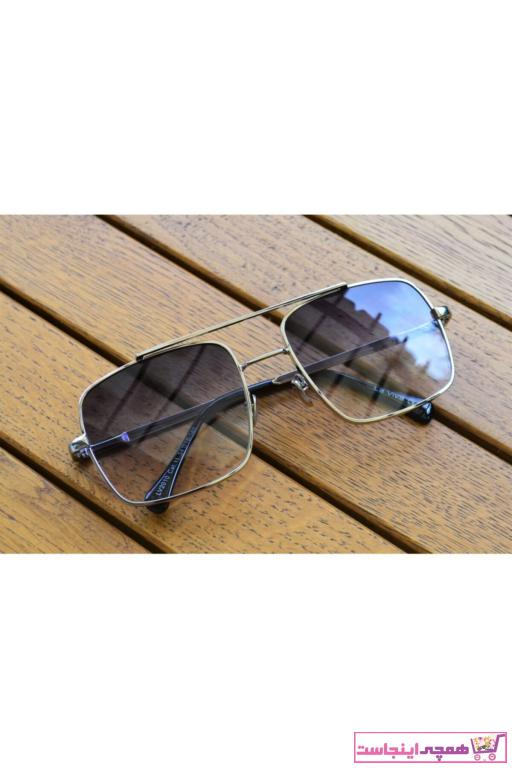 عینک آفتابی مردانه مدل برند Max Polo رنگ نقره ای کد ty62243781