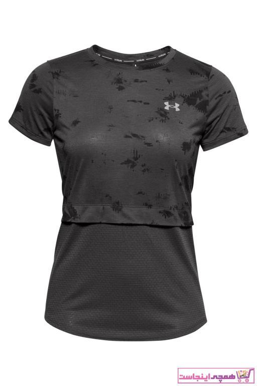خرید ارزان تیشرت ورزشی زنانه پیاده روی برند Under Armour رنگ نقره ای کد ty62247537