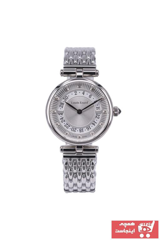 خرید ساعت مچی زنانه لوکس اصل برند LOUIS ERARD رنگ مشکی کد ty62272347