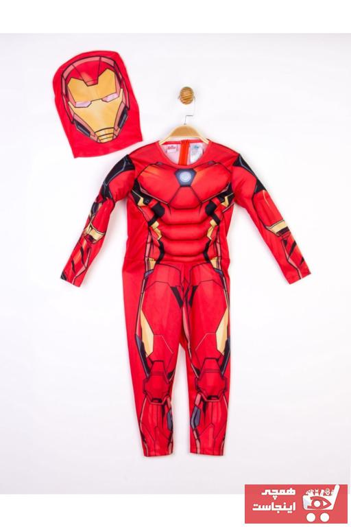 قیمت لباس خاص بچه گانه IRON MAN رنگ قرمز ty62346816