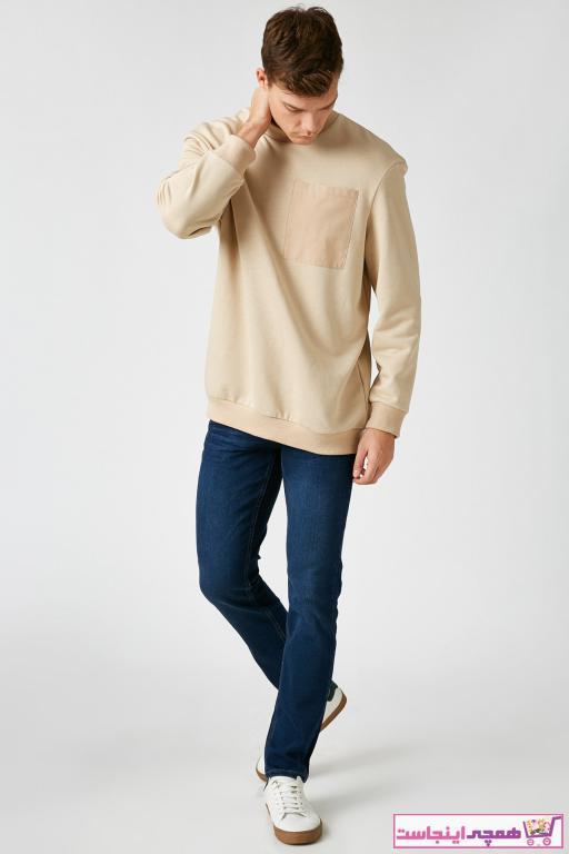 خرید انلاین شلوار جین مردانه طرح دار برند کوتون رنگ لاجوردی کد ty62452848