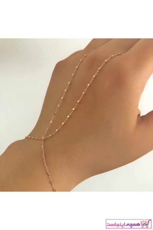 خرید اسان دستبند انگشتی زنانه اسپرت جدید برند SİLVEROFMATMAZEL رنگ صورتی ty62482733