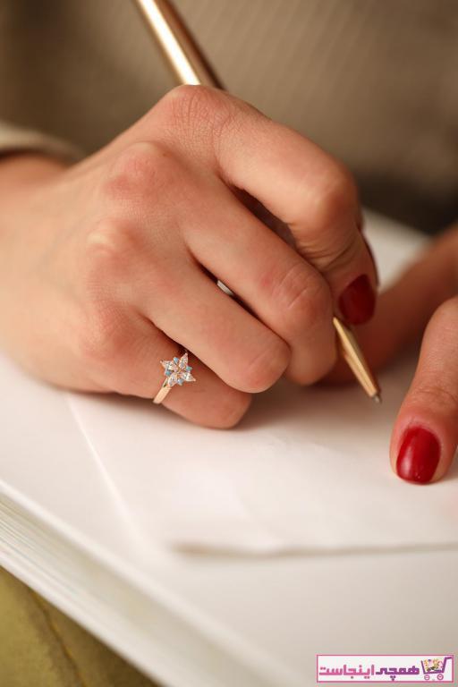 انگشتر زنانه تابستانی برند İzla Design رنگ صورتی ty6256043