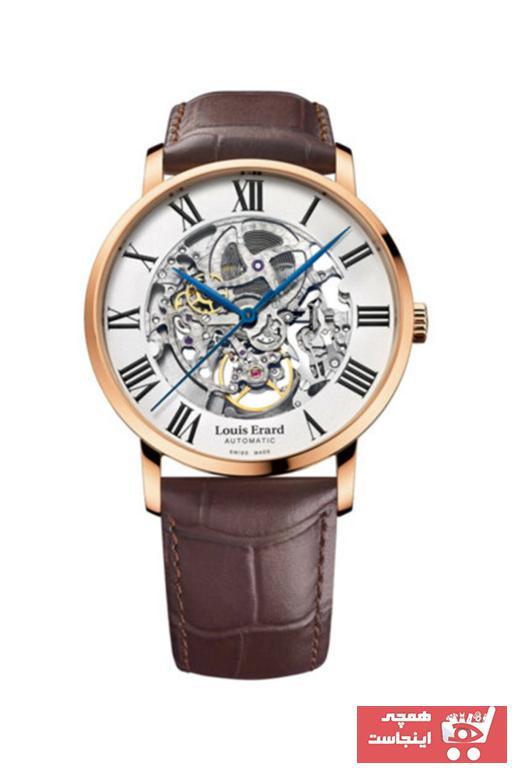 فروش ساعت مردانه برند LOUIS ERARD رنگ مشکی کد ty62668541