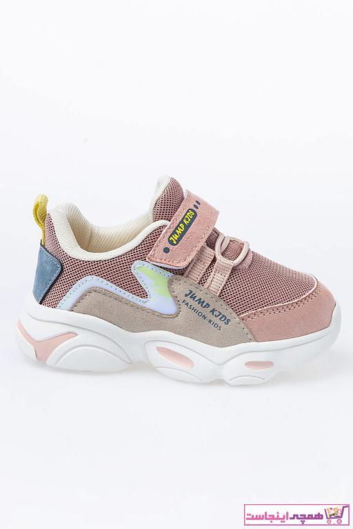کفش اسپرت بچه گانه دخترانه 2021 برند Jump رنگ صورتی ty63020398
