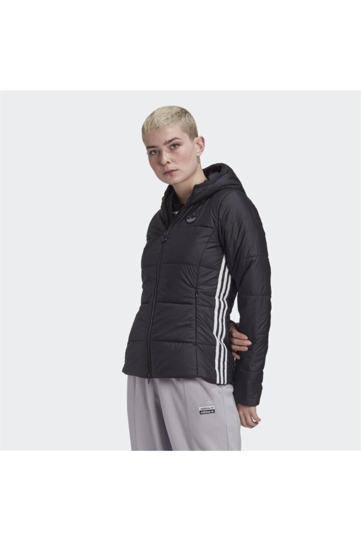فروش انلاین کاپشن ورزشی زنانه ارزان برند adidas رنگ مشکی کد ty63169460