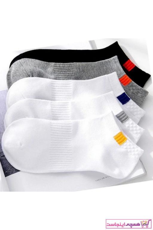 خرید نقدی جوراب مردانه  برند BGK رنگ نقره ای کد ty63265727