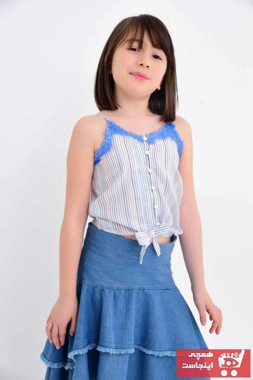 فروش بلوز دخترانه نخی برند Çikoby کد ty6333600