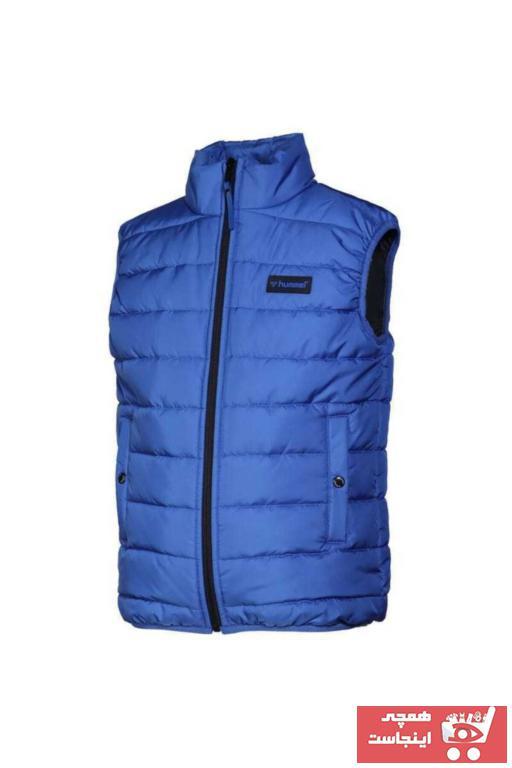 فروشگاه جلیقه دخترانه برند هومل رنگ آبی کد ty63397979