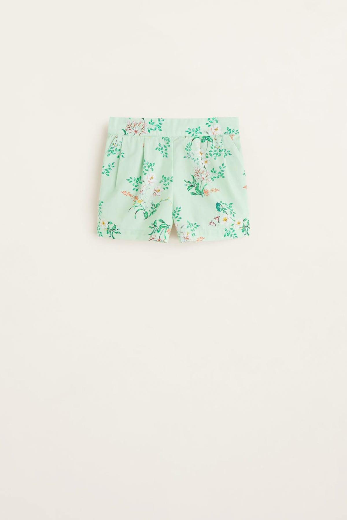 خرید انلاین شلوارک جدید نوزاد دخترانه شیک برند مانگو رنگ سبز کد ty6375121