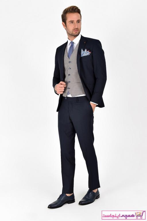 کت شلوار مردانه  ترکیه برند Centone رنگ لاجوردی کد ty6420787