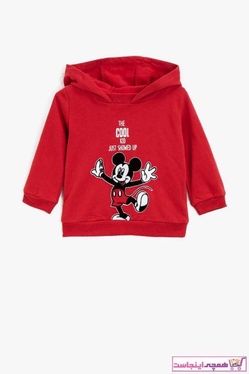 سویشرت نوزاد پسر خاص برند کوتون رنگ قرمز ty64484429