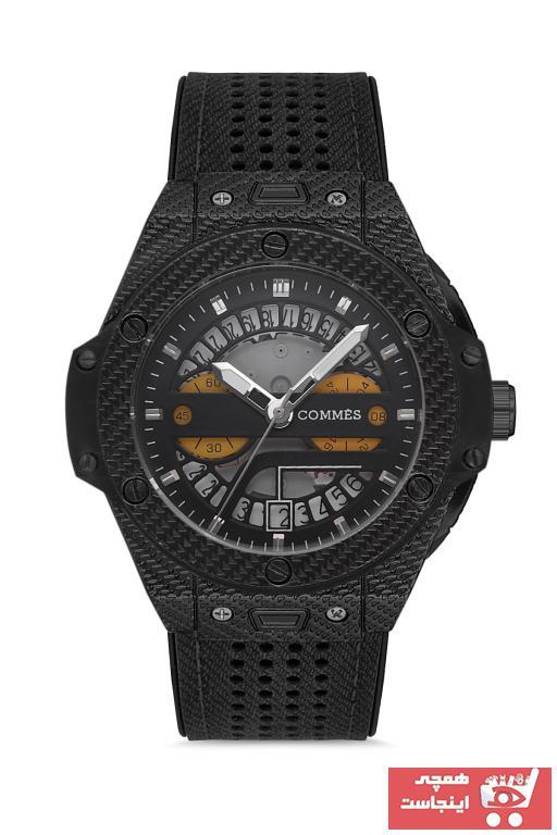 خرید انلاین ساعت مردانه برند COMMES رنگ مشکی کد ty65012389