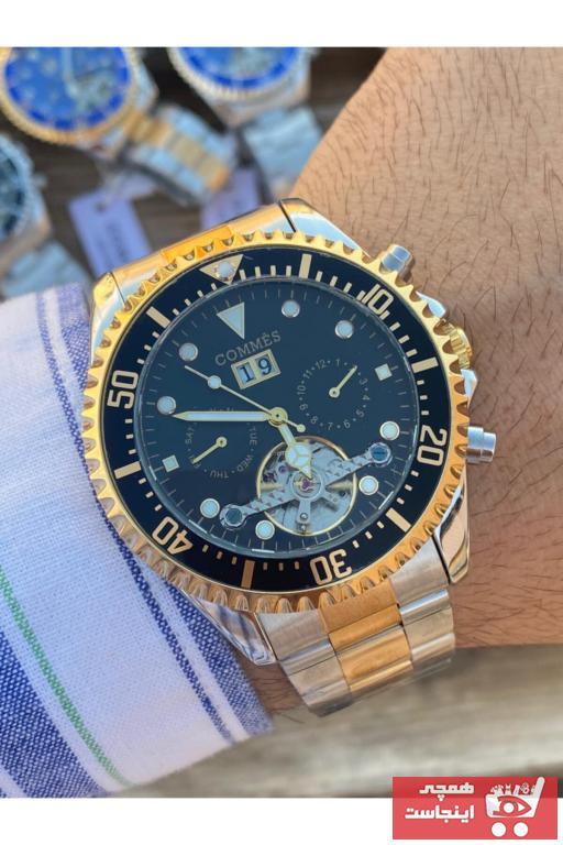 خرید انلاین ساعت مردانه ارزان برند COMMES رنگ نقره ای کد ty65234070