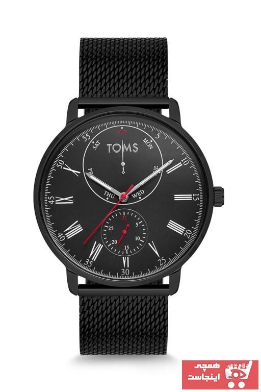 خرید پستی ساعت مردانه پارچه  برند Toms Watch رنگ مشکی کد ty6554254