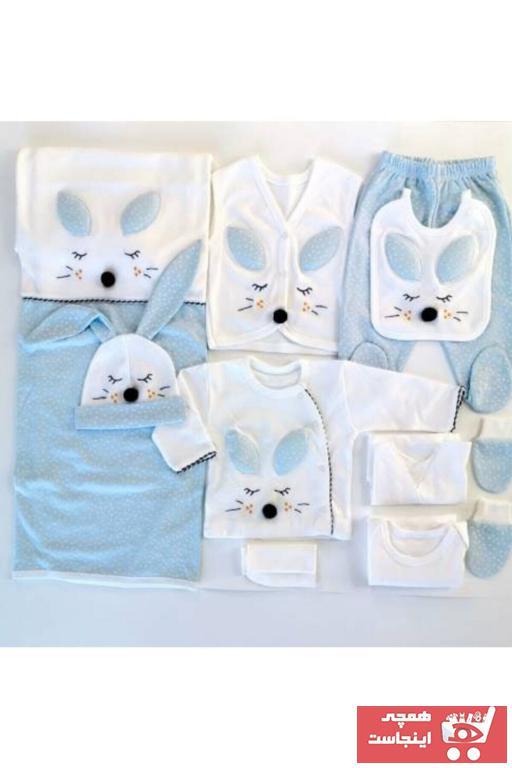 خرید اینترنتی ست لباس نوزاد فانتزی برند Gaye Bebe رنگ آبی کد ty66091658