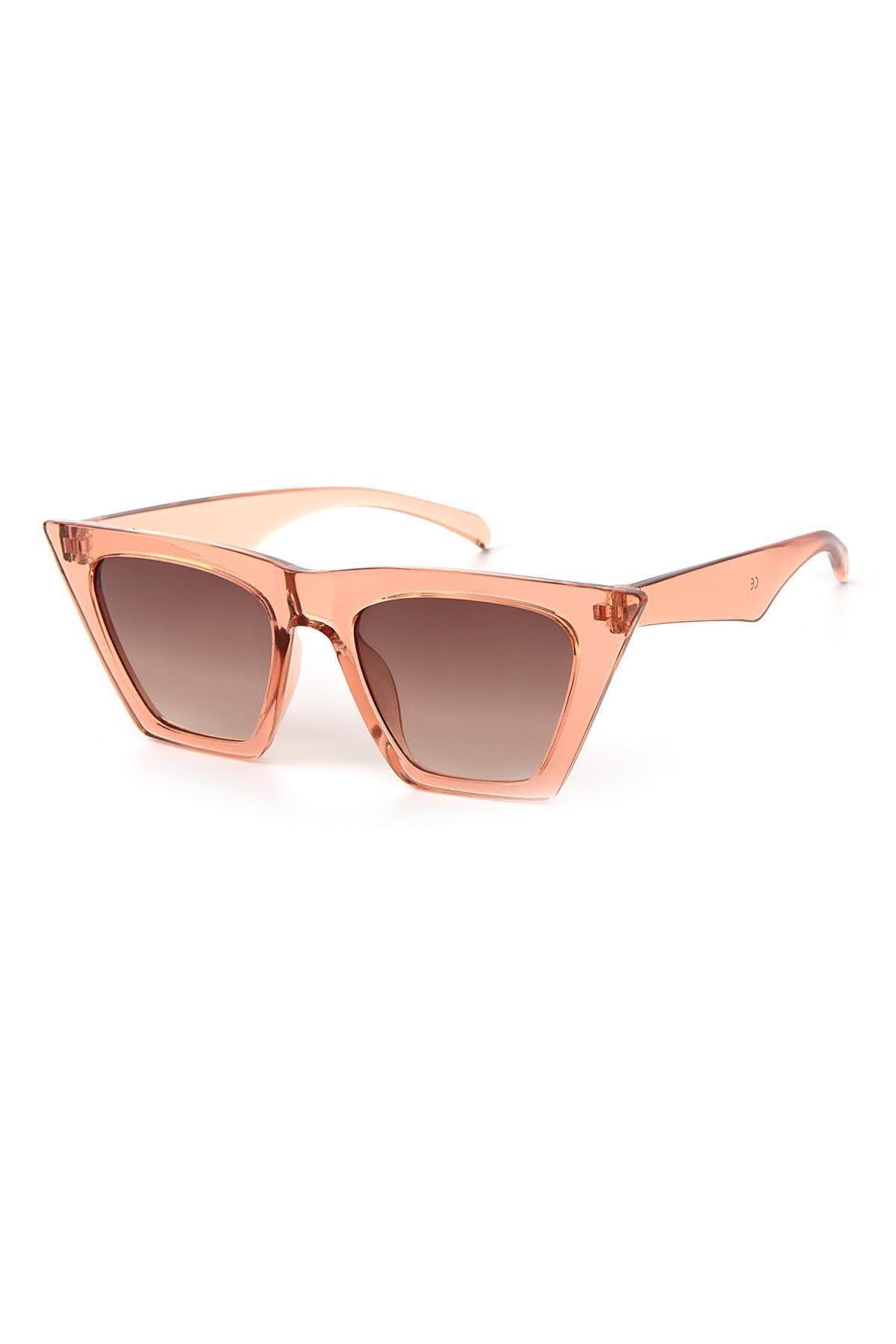 عینک دودی مردانه مدل 2021 برند Moda Kızı Butik رنگ بژ کد ty66388004