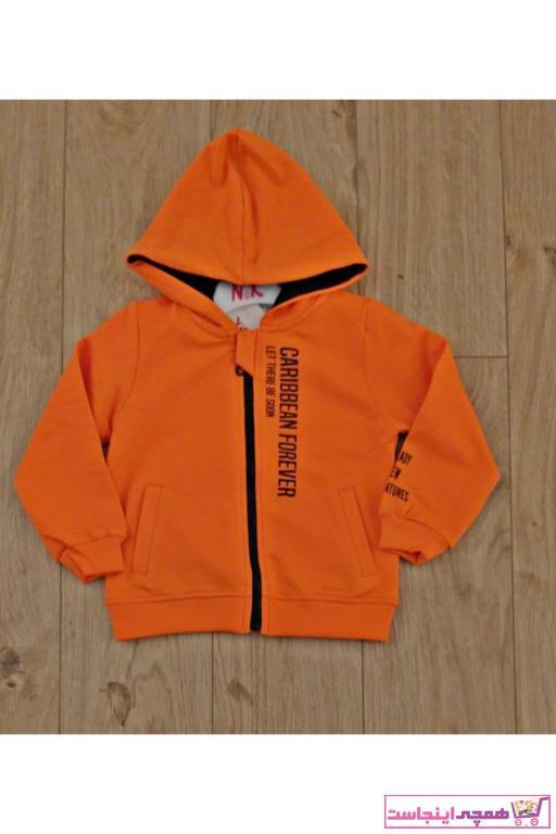 خرید ارزان سویشرت پسرانه فانتزی برند nk kids رنگ نارنجی کد ty66388696