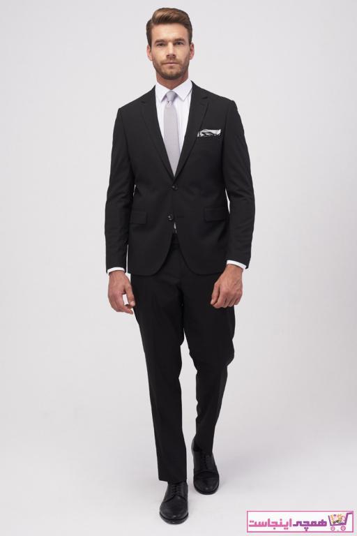 فروشگاه کت شلوار مردانه سال ۹۹ برند ALTINYILDIZ CLASSICS رنگ مشکی کد ty6667968
