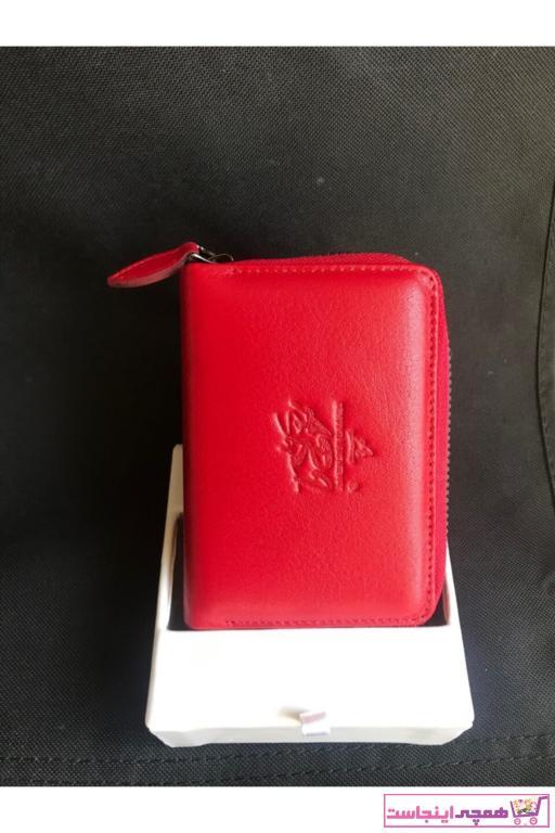 خرید پستی کیف کارت بانکی اورجینال زنانه برند Arı Deri رنگ قرمز ty66692488