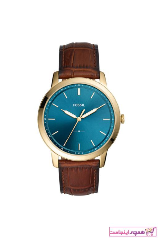 خرید اینترنتی ساعت مردانه از استانبول برند Fossil رنگ قهوه ای کد ty67121405