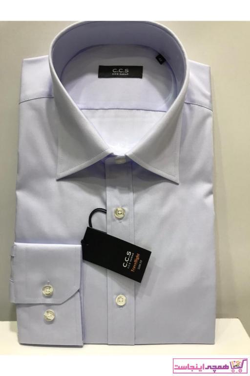 خرید ارزان پیراهن فانتزی مردانه برند CCS Sarar رنگ آبی کد ty67396585