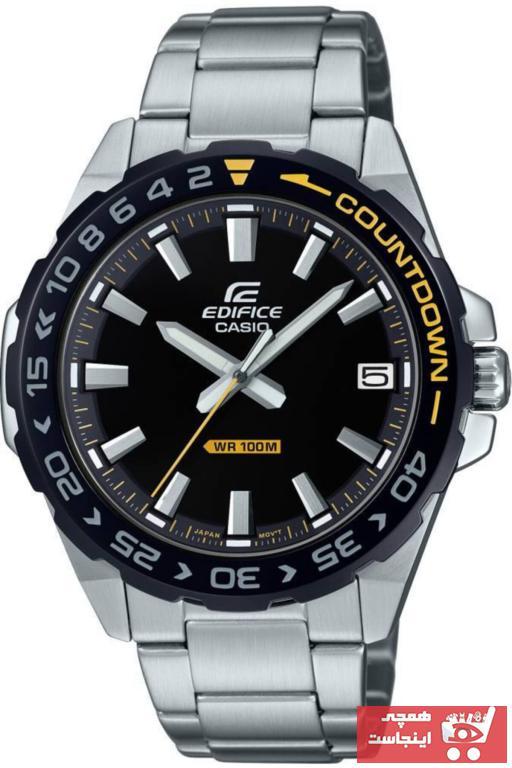 خرید پستی ساعت مچی مردانه  اصل برند کاسیو رنگ نقره ای کد ty6762158