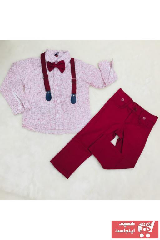 خرید اینترنتی لباس مجلسی بچه گانه فانتزی برند Mini Hero Baby رنگ زرشکی ty67922251
