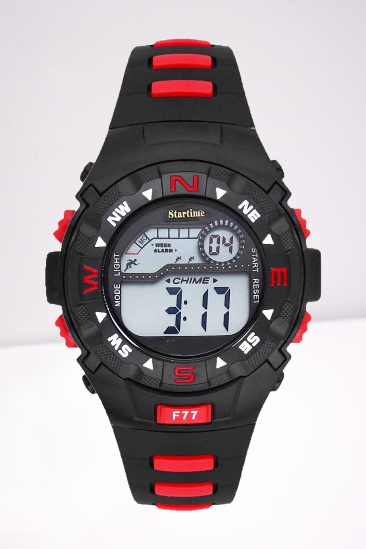 ساعت شیک برند Startime رنگ قرمز ty68003358