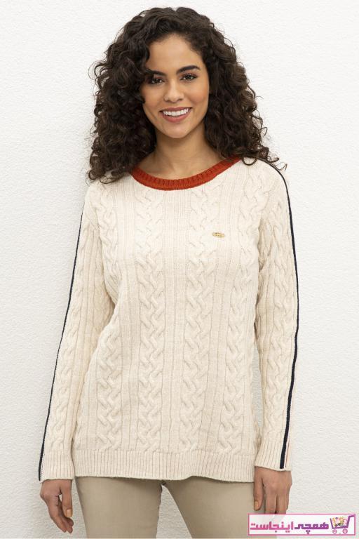 پلیور زنانه با قیمت برند U.S. Polo Assn. رنگ بژ کد ty68184642