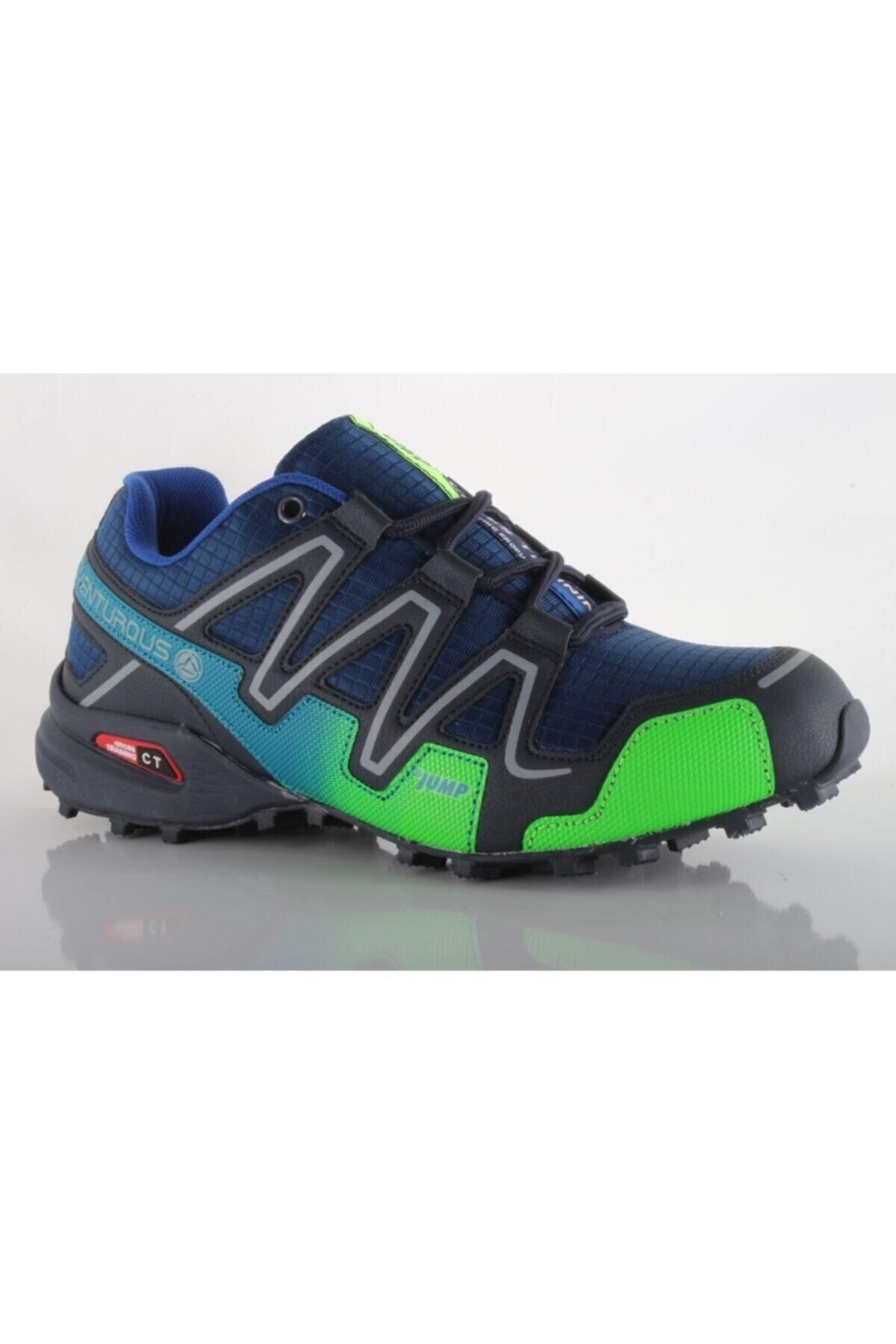 خرید اسان کفش کوهنوردی مردانه زیبا برند Jump رنگ آبی کد ty6825823