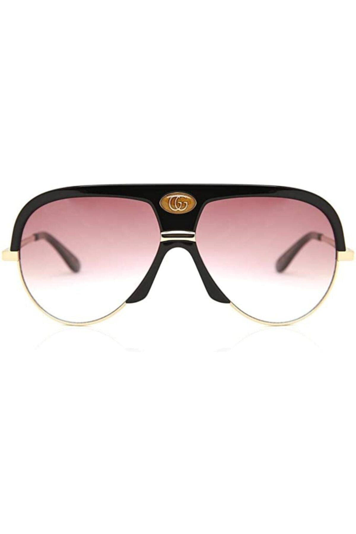 عینک آفتابی زنانه اسپرت جدید برند گوچی رنگ قهوه ای کد ty68318776