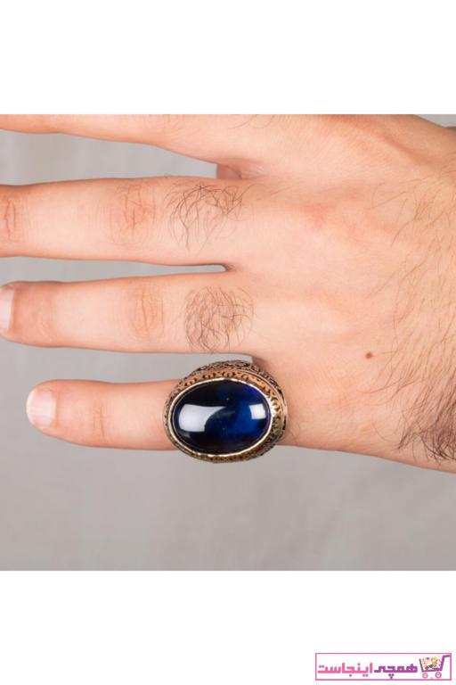 انگشتر مردانه 2021 برند Anı Yüzük رنگ آبی کد ty6862335