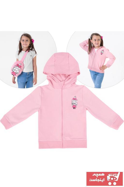 خرید اسان سویشرت پسرانه زیبا برند Miespiga رنگ صورتی ty68850167