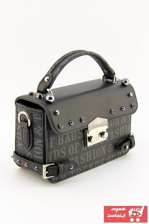 کیف دستی خفن برند HNB رنگ مشکی کد ty68878023