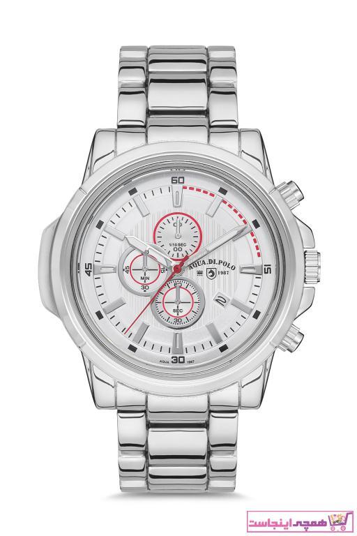سفارش پستی ساعت مچی مردانه  مارک Aqua Di Polo 1987 رنگ نقره کد ty68991284