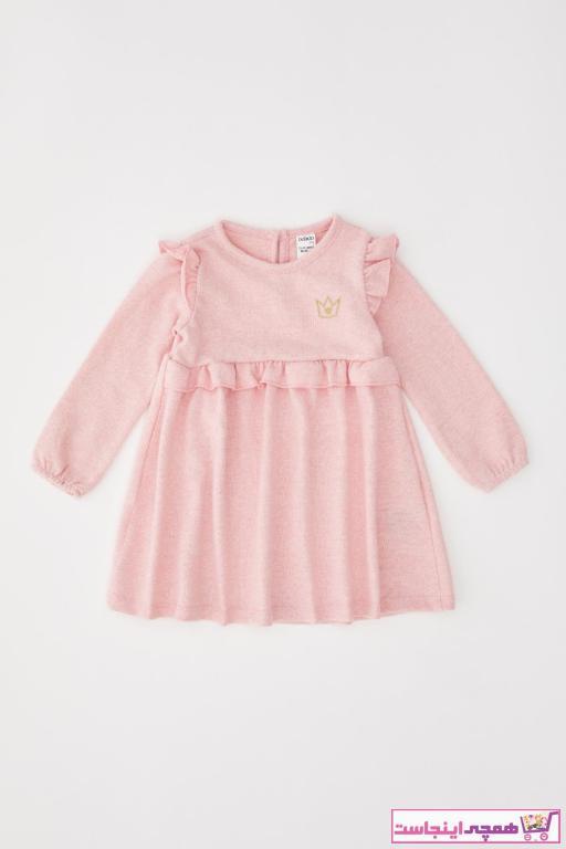 لباس مجلسی نوزاد دخترانه ترکیه برند دفاکتو ترک رنگ صورتی ty69258555