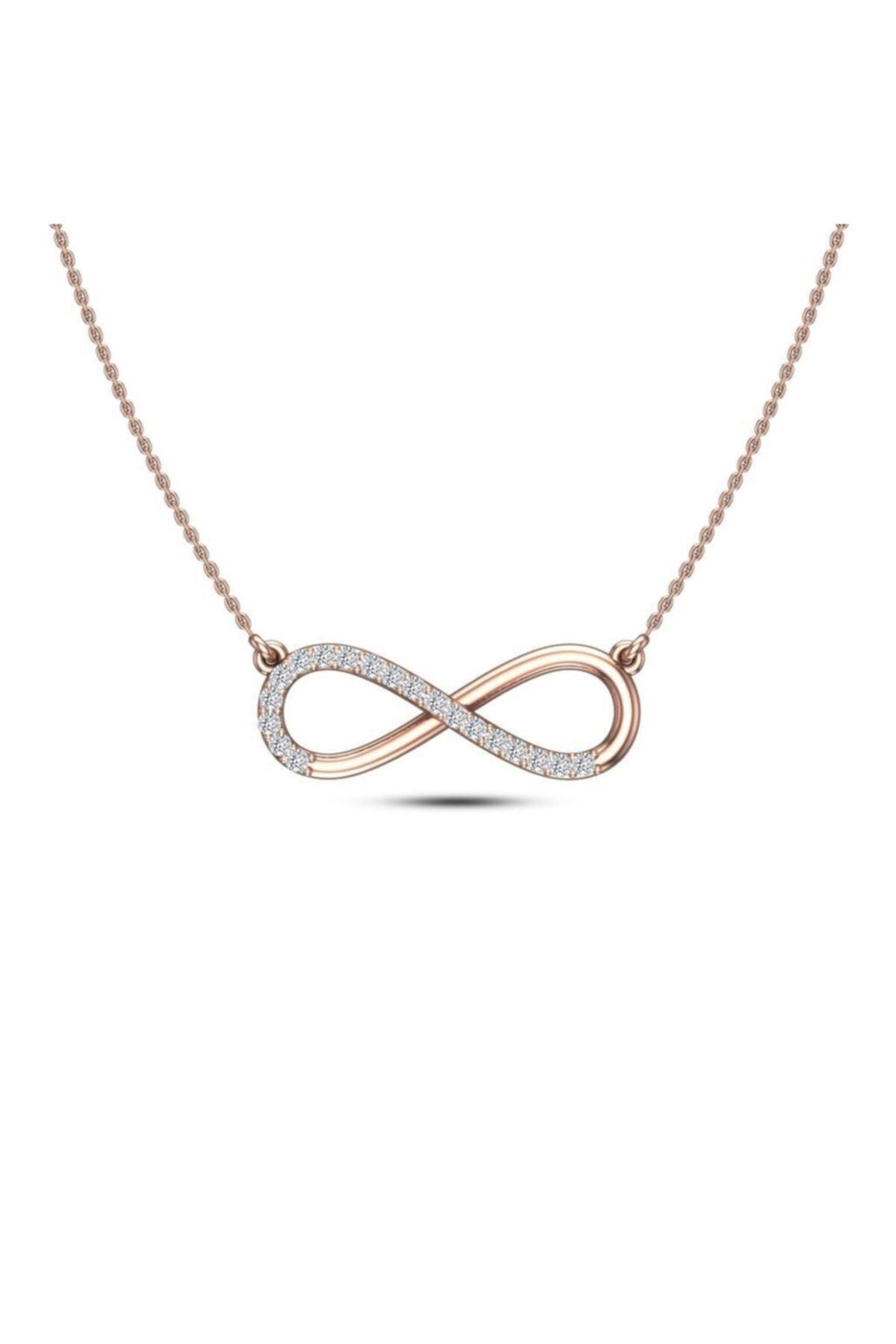 خرید نقدی گردنبند زنانه فروشگاه اینترنتی برند Silvanit Pırlanta رنگ نقره ای کد ty69469981
