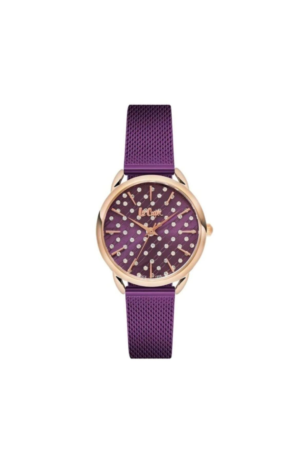 خرید پستی ساعت زنانه اصل برند Lee Cooper رنگ بنفش کد ty69492293