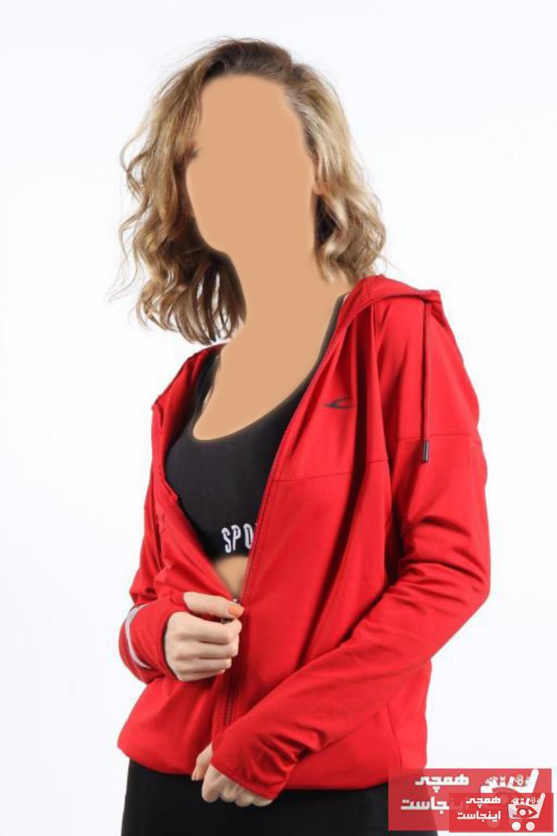 سفارش انلاین گرمکن ورزشی ساده برند Mckanzie رنگ قرمز ty70081556
